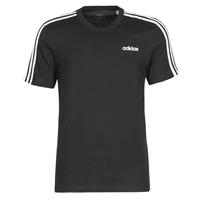 Υφασμάτινα Άνδρας T-shirt με κοντά μανίκια adidas Performance E 3S TEE Black