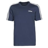 Υφασμάτινα Άνδρας T-shirt με κοντά μανίκια adidas Performance E 3S TEE Encre / Légende