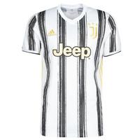 Υφασμάτινα T-shirt με κοντά μανίκια adidas Performance JUVE H JSY Άσπρο / Black