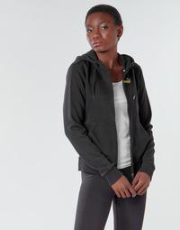 Υφασμάτινα Γυναίκα Σπορ Ζακέτες Puma METALLIC FZ HOODY TR Black / Dore