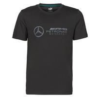 Υφασμάτινα Άνδρας T-shirt με κοντά μανίκια Puma MAPM LOGO TEE Black
