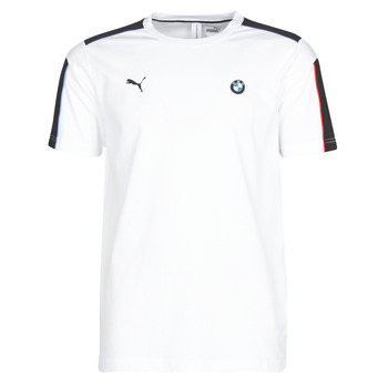 Υφασμάτινα Άνδρας T-shirt με κοντά μανίκια Puma BMW MMS MS T7 TEE Άσπρο