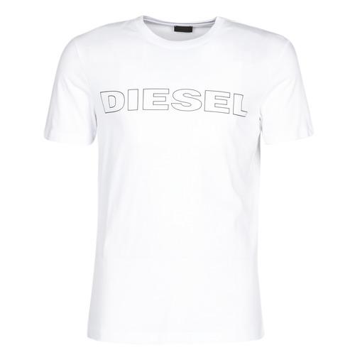 Υφασμάτινα Άνδρας T-shirt με κοντά μανίκια Diesel JAKE Άσπρο