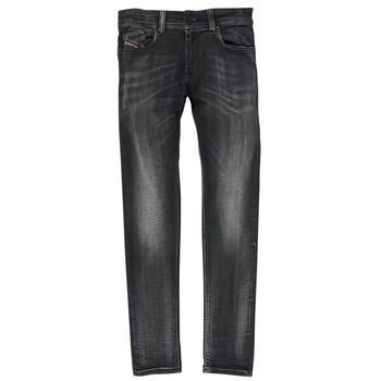Υφασμάτινα Αγόρι Skinny jeans Diesel SLEENKER Black
