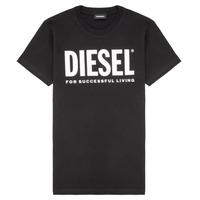 Υφασμάτινα Παιδί T-shirt με κοντά μανίκια Diesel TJUSTLOGO Black