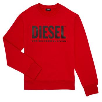 Υφασμάτινα Αγόρι Φούτερ Diesel SCREWDIVISION LOGO Red