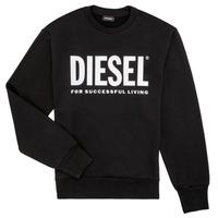 Υφασμάτινα Αγόρι Φούτερ Diesel SCREWDIVISION LOGO Black