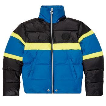 Υφασμάτινα Αγόρι Μπουφάν Diesel JMARTOS Black / Μπλέ / Yellow