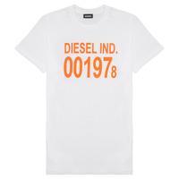 Υφασμάτινα Παιδί T-shirt με κοντά μανίκια Diesel TDIEGO1978 Άσπρο
