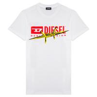 Υφασμάτινα Αγόρι T-shirt με κοντά μανίκια Diesel TDIEGOBX2 Άσπρο