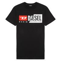 Υφασμάτινα Παιδί T-shirt με κοντά μανίκια Diesel TDIEGOCUTY Black