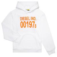 Υφασμάτινα Παιδί Φούτερ Diesel SGIRKHOOD Άσπρο