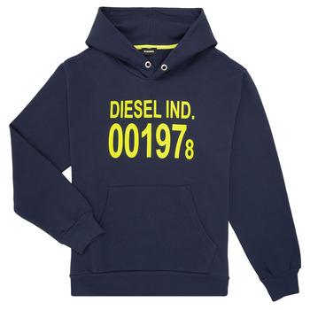Υφασμάτινα Παιδί Φούτερ Diesel SGIRKHOOD Μπλέ