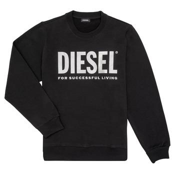 Υφασμάτινα Κορίτσι Φούτερ Diesel SANGWX Black