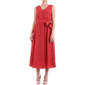 Υφασμάτινα Γυναίκα Μακριά Φορέματα Fly Girl 9890-02 Rosso