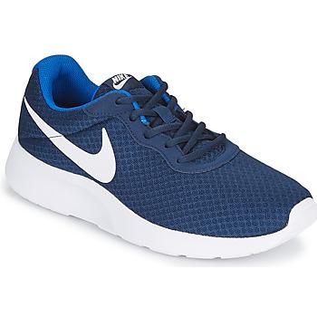 Παπούτσια Άνδρας Χαμηλά Sneakers Nike TANJUN Μπλέ / Άσπρο