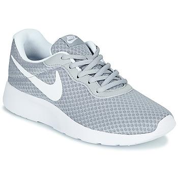 Παπούτσια Γυναίκα Χαμηλά Sneakers Nike TANJUN Grey / Άσπρο