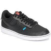 Παπούτσια Γυναίκα Χαμηλά Sneakers Nike COURT VISION LOW PREM Black
