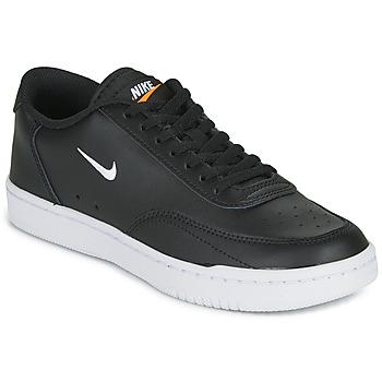 Παπούτσια Γυναίκα Χαμηλά Sneakers Nike COURT VINTAGE Black / Άσπρο