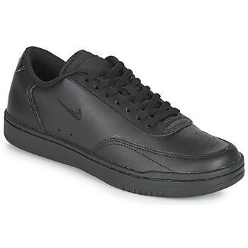 Παπούτσια Γυναίκα Χαμηλά Sneakers Nike COURT VINTAGE Black