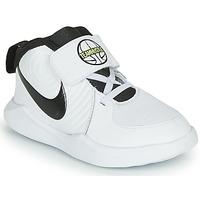 Παπούτσια Αγόρι Basketball Nike TEAM HUSTLE D 9 TD Άσπρο / Black