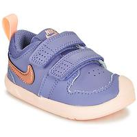Παπούτσια Κορίτσι Χαμηλά Sneakers Nike PICO 5 TD Violet / Ροζ