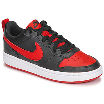 Xαμηλά Sneakers Nike COURT BOROUGH LOW 2 GS ΣΤΕΛΕΧΟΣ: Δέρμα & ΕΠΕΝΔΥΣΗ: Ύφασμα & ΕΣ. ΣΟΛΑ: Ύφασμα & ΕΞ. ΣΟΛΑ: Καουτσούκ