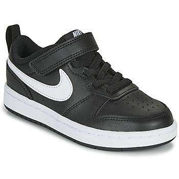 Παπούτσια Παιδί Χαμηλά Sneakers Nike COURT BOROUGH LOW 2 PS Black / Άσπρο