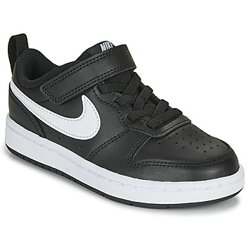 Xαμηλά Sneakers Nike COURT BOROUGH LOW 2 PS ΣΤΕΛΕΧΟΣ: Δέρμα & ΕΠΕΝΔΥΣΗ: Ύφασμα & ΕΣ. ΣΟΛΑ: Ύφασμα & ΕΞ. ΣΟΛΑ: Καουτσούκ