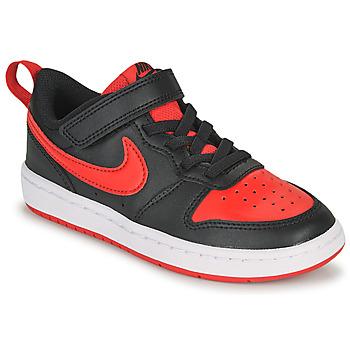 Παπούτσια Παιδί Χαμηλά Sneakers Nike COURT BOROUGH LOW 2 PS Black / Red