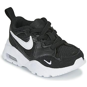 Παπούτσια Παιδί Χαμηλά Sneakers Nike AIR MAX FUSION TD Black / Άσπρο