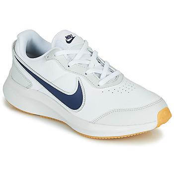 Παπούτσια Αγόρι Χαμηλά Sneakers Nike VARSITY LEATHER GS Άσπρο / Μπλέ
