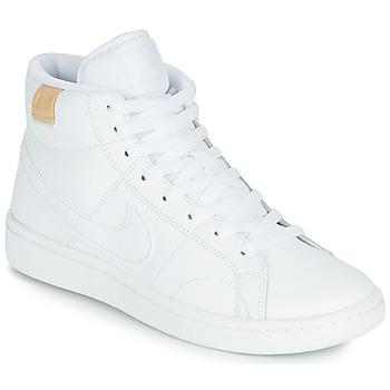 Παπούτσια Γυναίκα Χαμηλά Sneakers Nike COURT ROYALE 2 MID Άσπρο