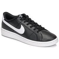 Παπούτσια Γυναίκα Χαμηλά Sneakers Nike Court Royale 2 Black / Άσπρο