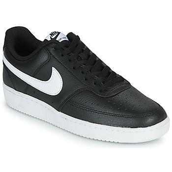 Παπούτσια Άνδρας Χαμηλά Sneakers Nike COURT VISION LOW Black / Άσπρο