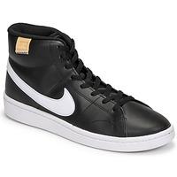 Παπούτσια Άνδρας Χαμηλά Sneakers Nike COURT ROYALE 2 MID Black / Άσπρο