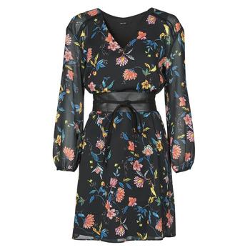 Υφασμάτινα Γυναίκα Κοντά Φορέματα One Step FR30301 Black