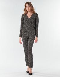 Υφασμάτινα Γυναίκα Ολόσωμες φόρμες / σαλοπέτες One Step FR32021_02 Black