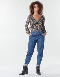 Υφασμάτινα Γυναίκα Παντελόνια Πεντάτσεπα One Step FR29091_46 Μπλέ