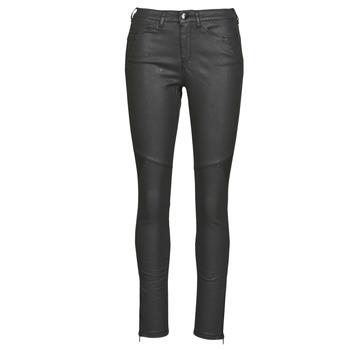 Υφασμάτινα Γυναίκα Παντελόνια Πεντάτσεπα One Step FR29031_02 Black