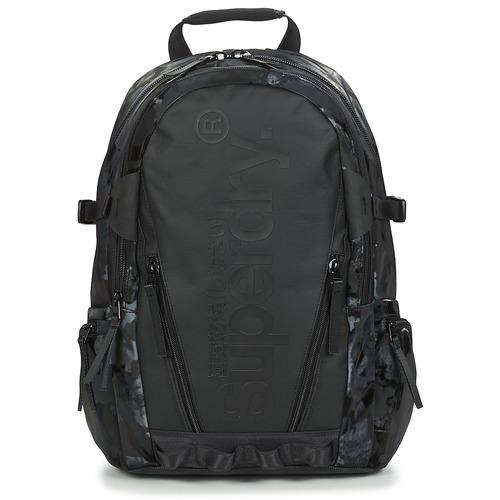Τσάντες Σακίδια πλάτης Superdry HARBOUR TARP BACKPACK Black