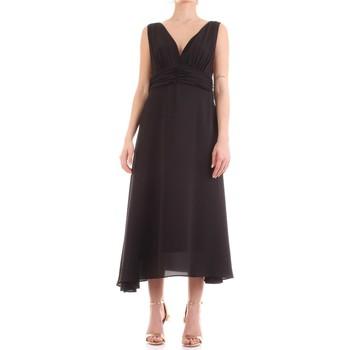 Υφασμάτινα Γυναίκα Μακριά Φορέματα Fly Girl 9845-01 Nero