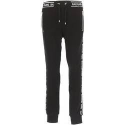 Υφασμάτινα Άνδρας Φόρμες Balmain RH15631 Black