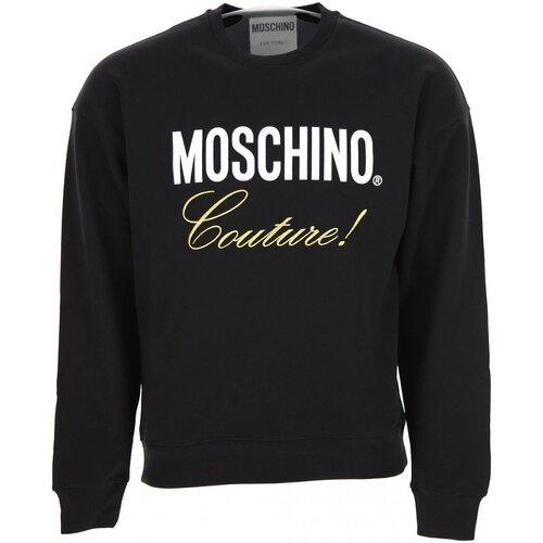 Υφασμάτινα Άνδρας Φούτερ Moschino ZA1719 Black
