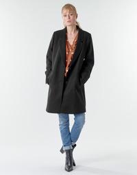 Υφασμάτινα Γυναίκα Παλτό Esprit LL* BASICBLZRCT Black