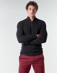 Υφασμάτινα Άνδρας Πουλόβερ Esprit COWS STR HZ Black