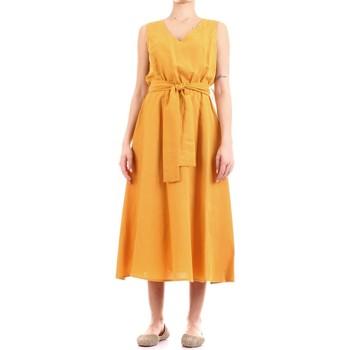 Υφασμάτινα Γυναίκα Μακριά Φορέματα Fly Girl 9890-02 Giallo