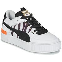 Παπούτσια Γυναίκα Χαμηλά Sneakers Puma CALI SPORT WILD Άσπρο / Black