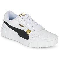 Παπούτσια Γυναίκα Χαμηλά Sneakers Puma CALI VARSITY Άσπρο / Black