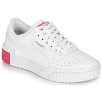 Παπούτσια Κορίτσι Χαμηλά Sneakers Puma CALI JR Άσπρο / Ροζ